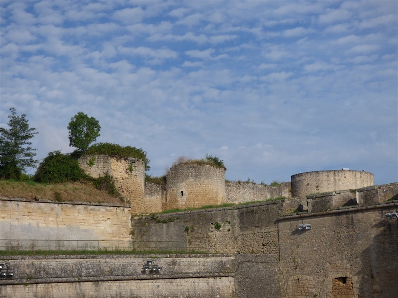 Le château des Rudels de la Citadelle de Blaye